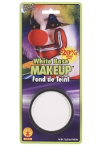 White Clown Makeup
