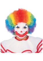 Bright Colors Clown Wig