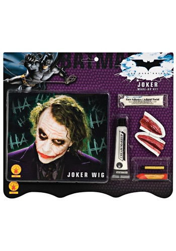 Joker Makeup Kit with Wig