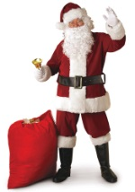 Regal Santa Claus Suit Costume