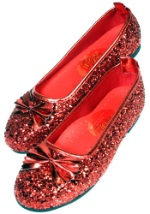 Childrens Ruby Red Slippers