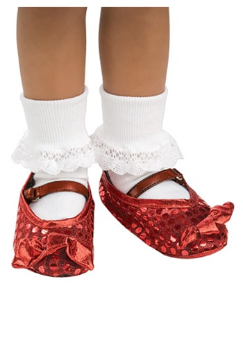 Toddler Ruby Slipper Shoe Covers