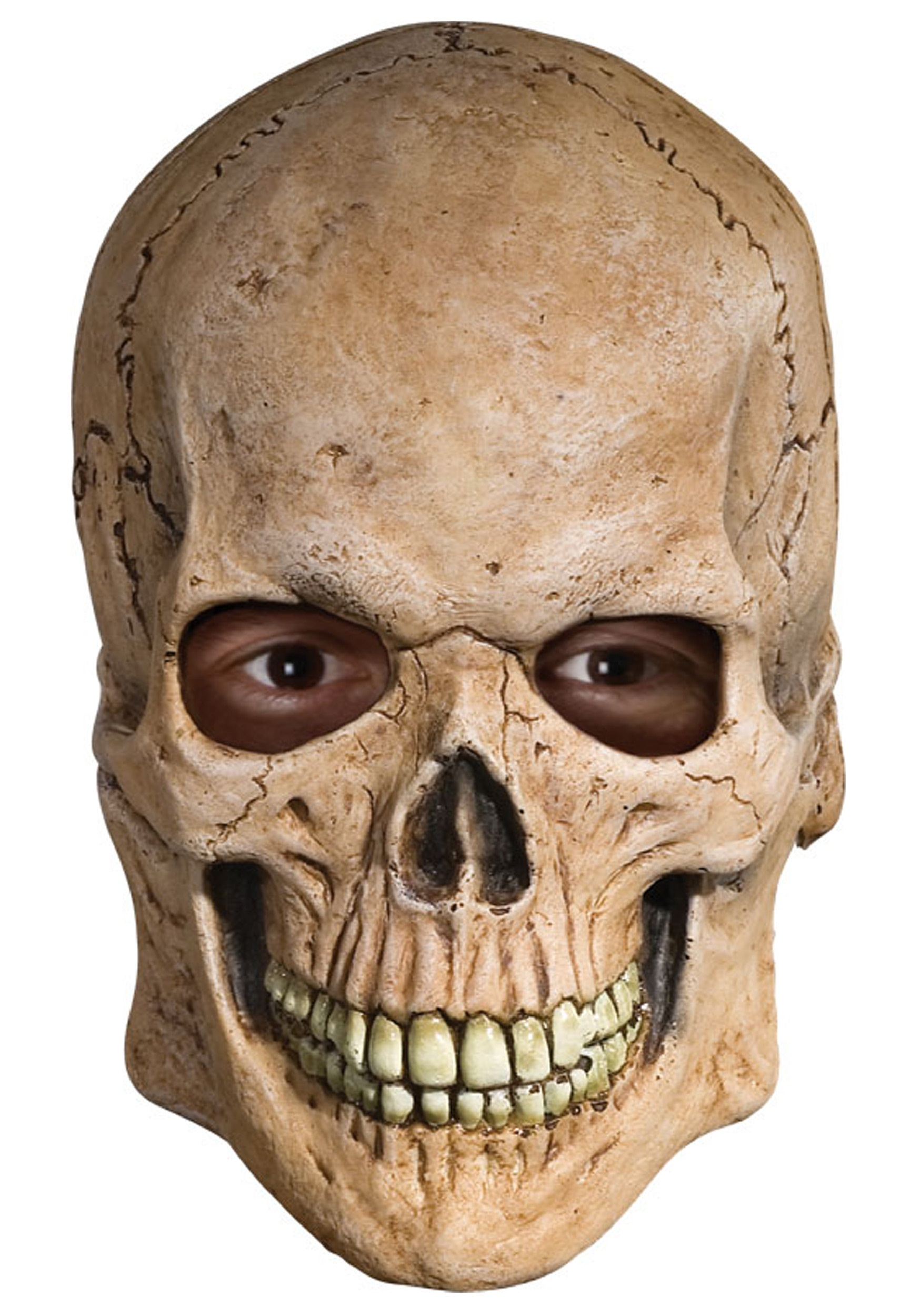 Latex Skull Mask - Scary Halloween Masks for Adults