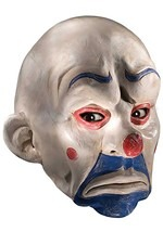 Half Joker Clown Mask