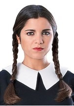 Adult Wednesday Addams Wig