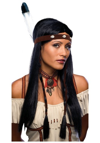 Women's Indian Wig - Native American Costumes and Accessories