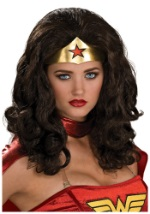 Curly Wonder Woman Wig