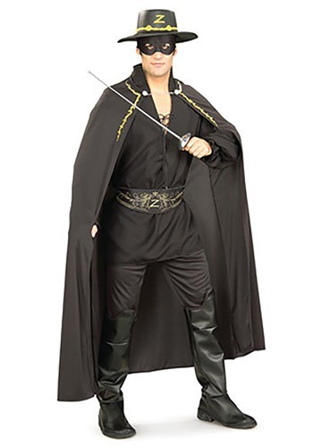 Adult Zorro Accessories Set