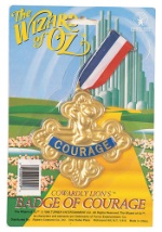 Cowardly Lion Courage Badge