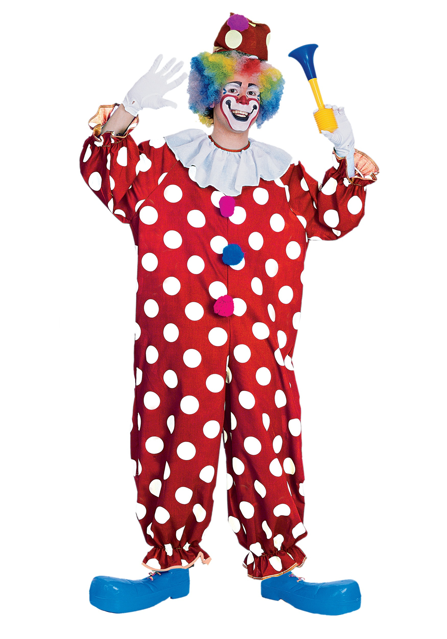Dotted Party Clown Costume  sc 1 st  Halloween Costume Ideas & Dotted Party Clown Costume - Circus Costume Ideas
