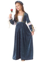 Child Juliet Costume Dress