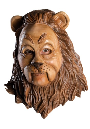 Deluxe Cowardly Lion Latex Mask
