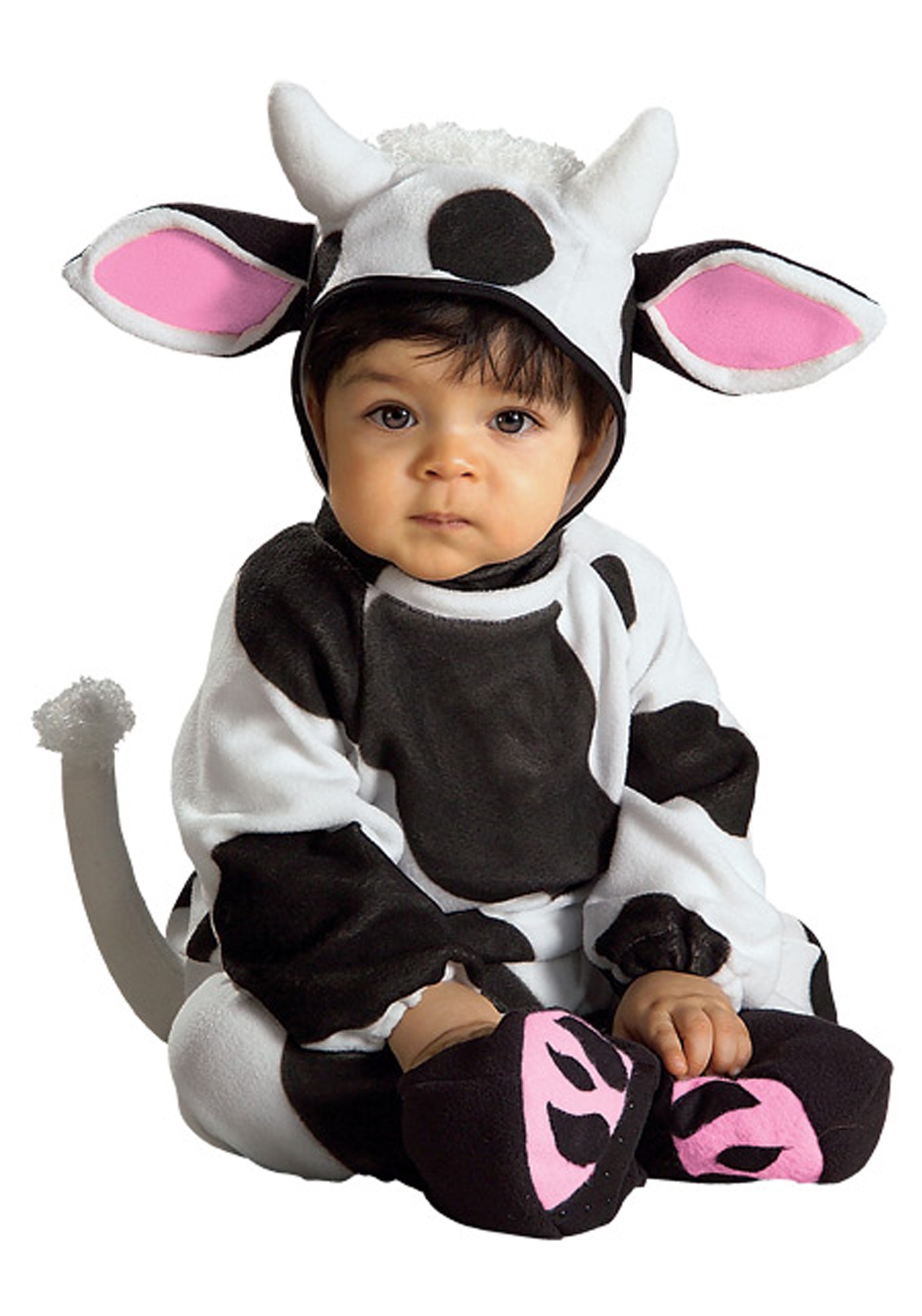 Cuddly Cow Costume Baby Halloween Costumes