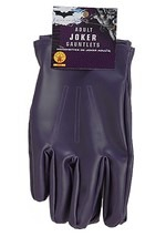 Adult Joker Purple Gloves