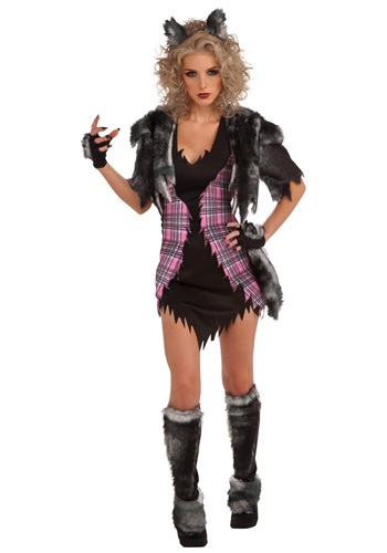 Sexy Scary She Wolf Costume