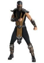 Mens Scorpion Mortal Kombat Costume