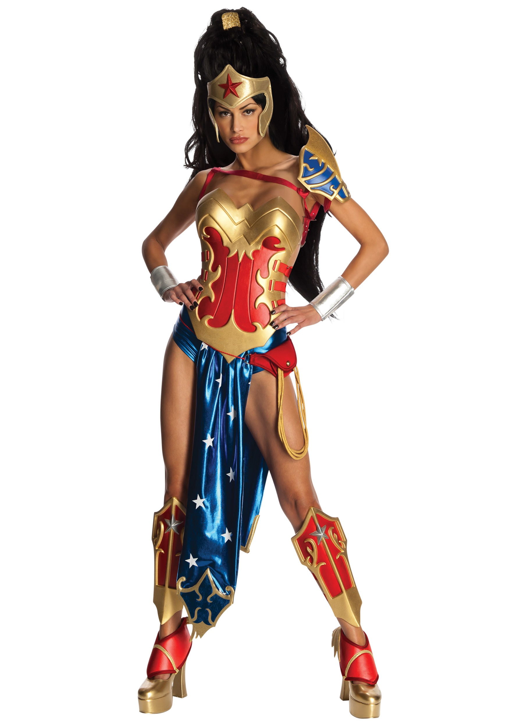 Discontinued Sexy Anime Wonder Woman Costume  sc 1 st  Halloween Costume Ideas & Anime/Manga Costumes - Graphic Novel Costumes
