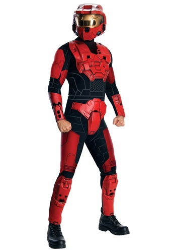 Halo Deluxe Red Spartan Costume
