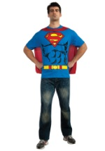 Superman T-Shirt Costume For Men