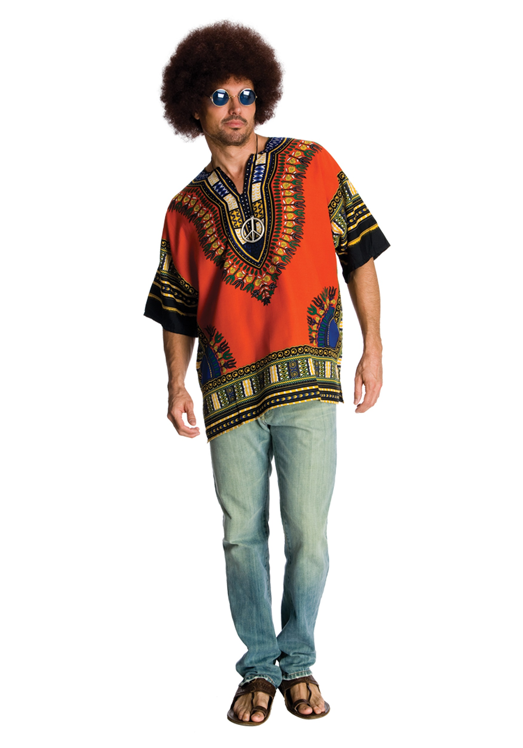 cool 60s hippie dude costume 1960s costumes mens costumes. Black Bedroom Furniture Sets. Home Design Ideas