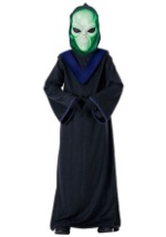 Kids Green Alien Costume