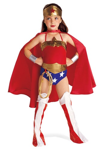 Classic Kids Wonder Woman Costumes