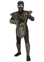 Child Gold Dragon Ninja Costume