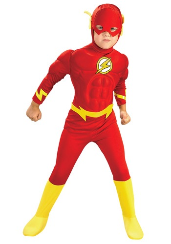 Boy's Deluxe Flash Costume