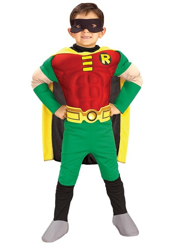 Kid's Muscle Robin Costume