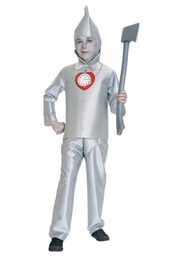 Children's Tin Man Costume