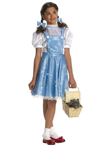 Sequin Dorothy Gale Toddler Costume