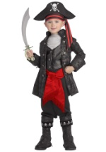 Black Pirate Captain Boy's Costume