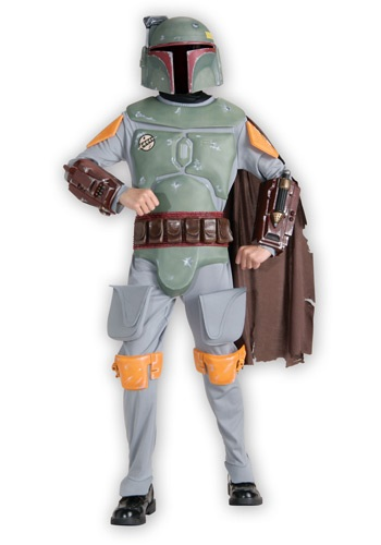 Deluxe Boba Fett Childs Costume