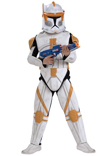 Deluxe Clone Trooper Cody Kids Costume