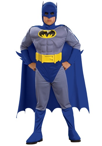 Deluxe Kid's Muscular Batman Costume