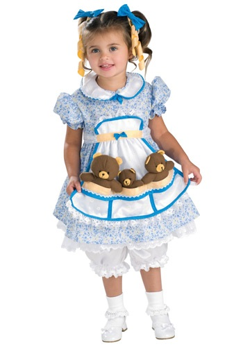 Goldilocks Storybook Costume