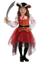 Kids Princess Sea Pirate Costume