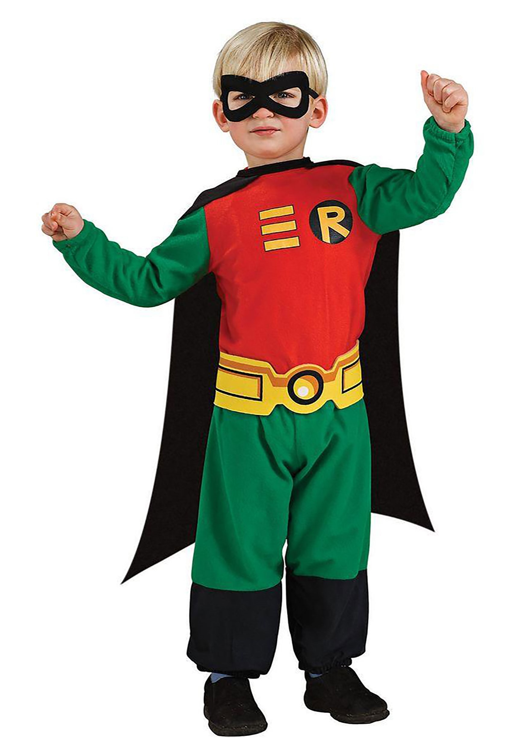 Child Toddler Robin Costume  sc 1 st  Halloween Costume Ideas & Toddler Robin Costume - Kids Batman and Robin Costumes