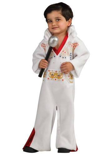 Toddler 1970s Elvis Romper