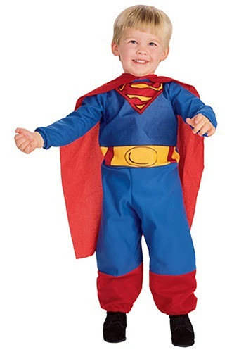 Tiny Infant / Toddler Superman Costume