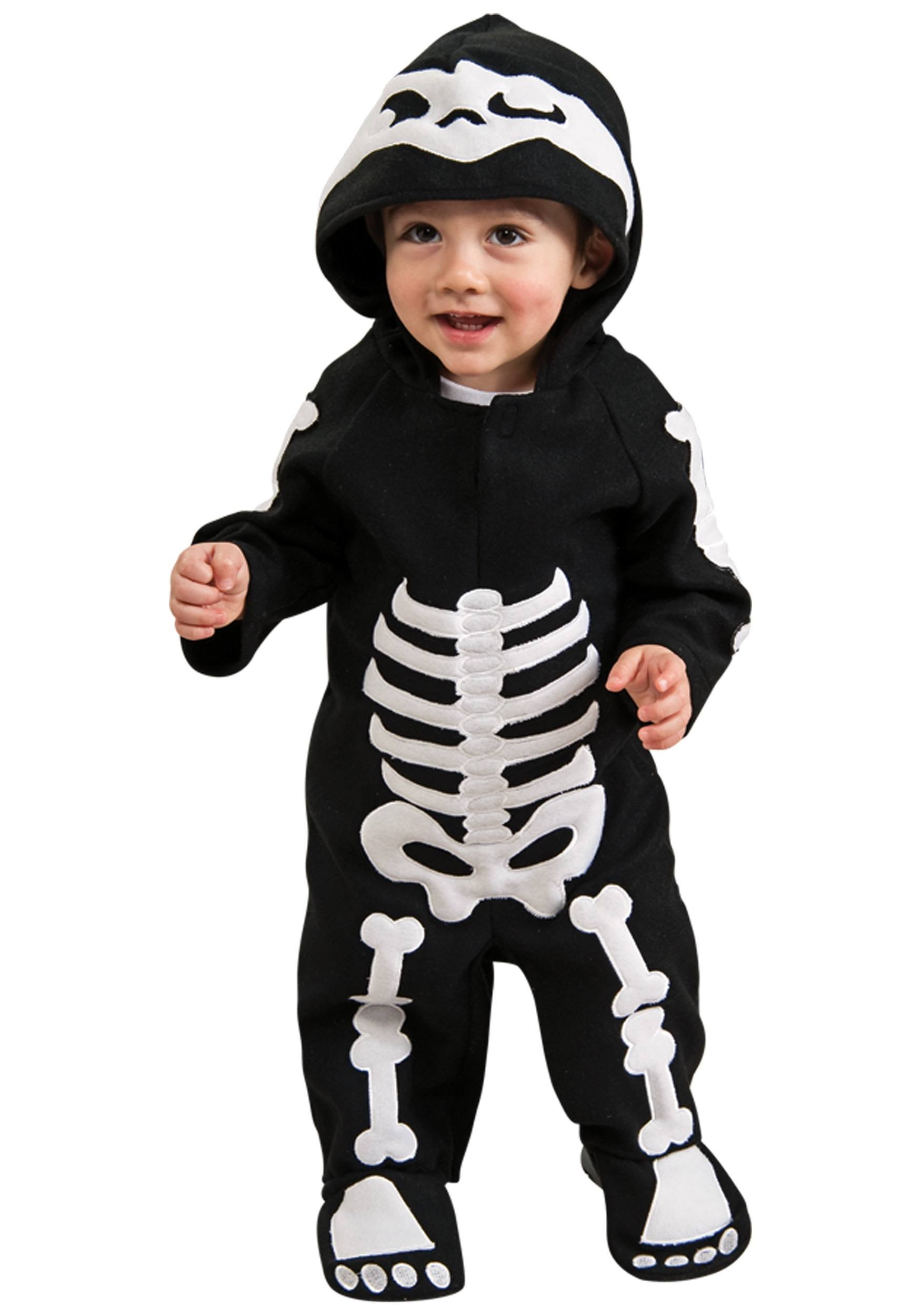 baby & toddler skeleton costume - infant classic halloween costumes