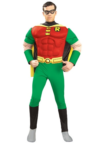Adult Muscular Robin Costume