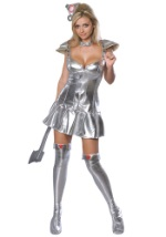 Women's Sexy Tin Man Costume