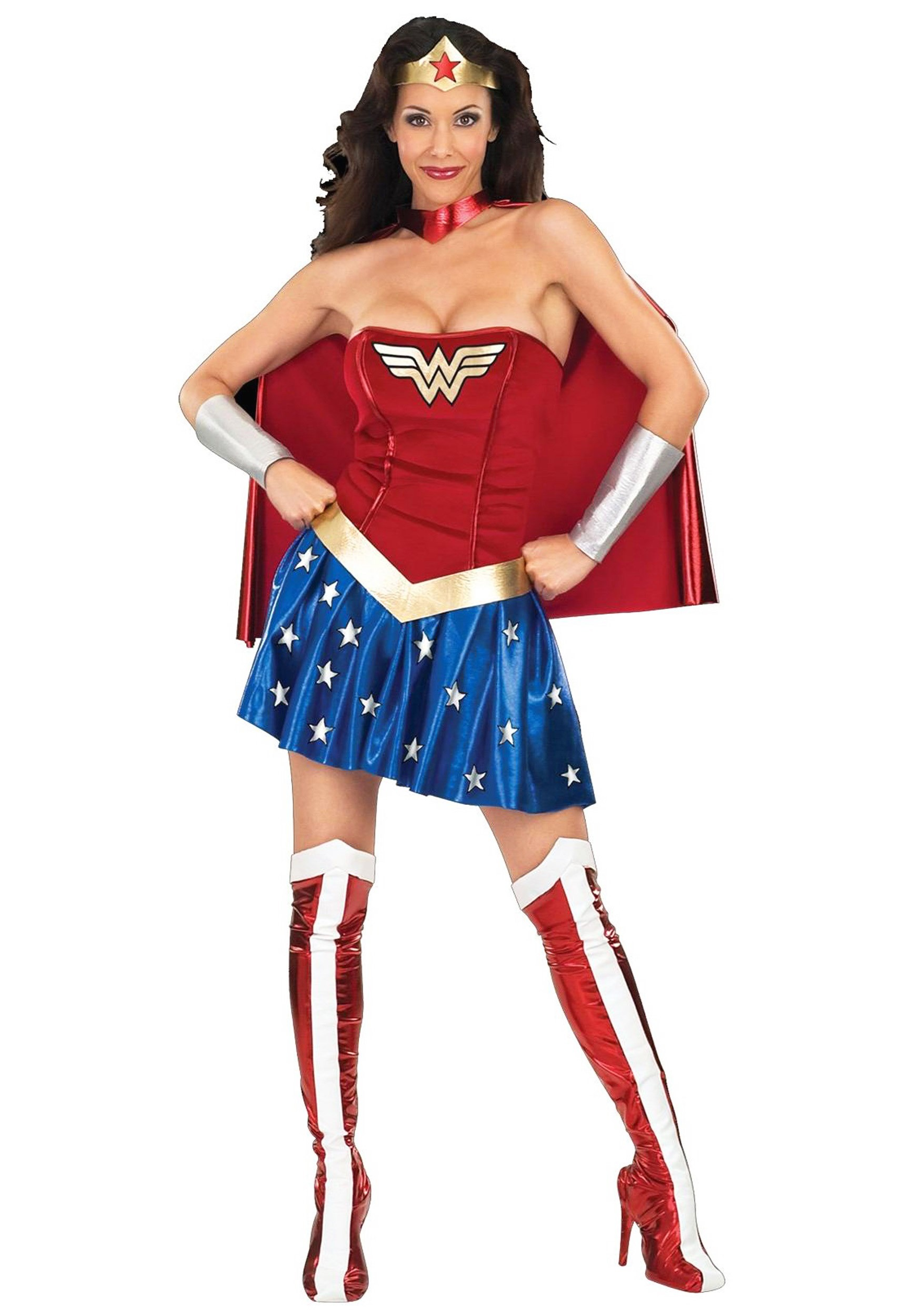 Wonder Woman Adult Costume  sc 1 st  Halloween Costume Ideas & Wonder Woman Adult Costume - Womenu0027s Superhero Costumes