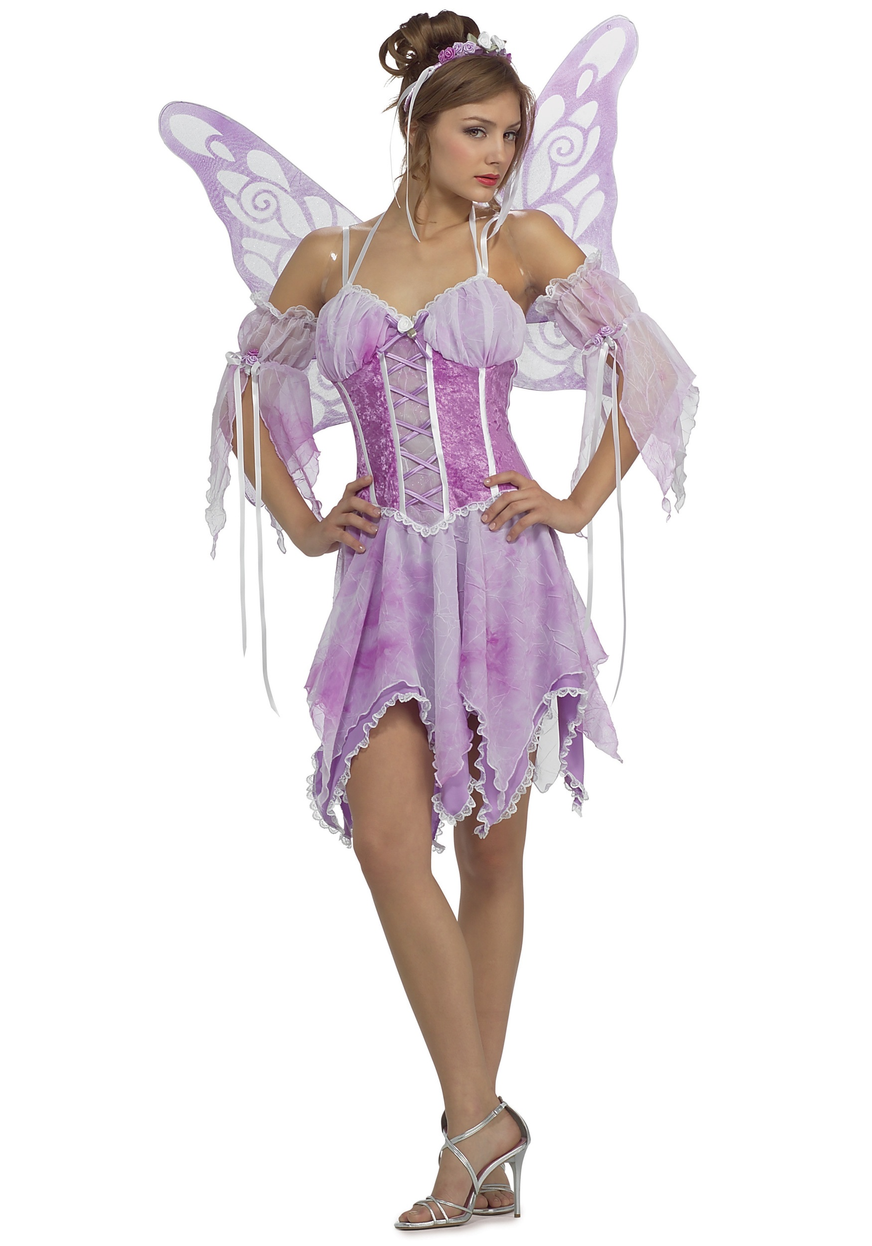 Adult Lavender Fairy Costume  sc 1 st  Halloween Costume Ideas & Adult Lavender Fairy Costume - Womens Fairy Costumes