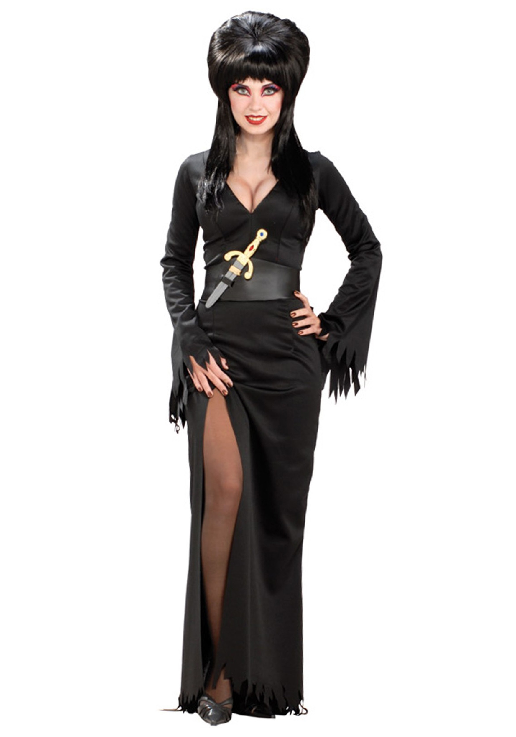 adult elvira costume - womens halloween mistress elvira costumes