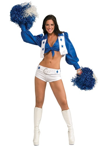 Cowboys Cheerleader Costume