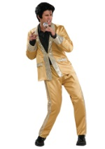 Deluxe Gold Elvis Costume