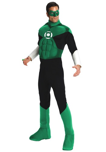 Green Lantern Deluxe Mens Costume