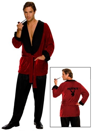 Men's Playboy Smoking Jacket
